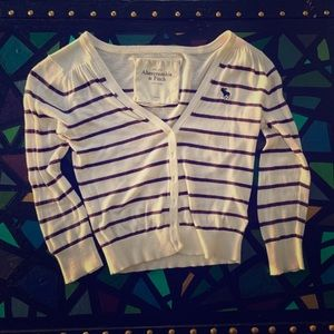 Abercrombie and Fitch crop cardigan